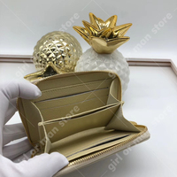 Luxury for girl bag wallet 2019 designer fashion cowhide wallet holder lady bags classic M60067