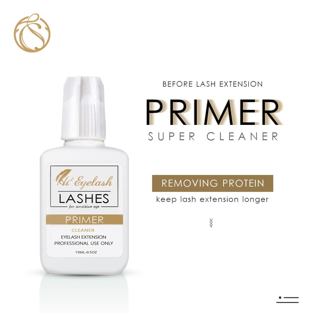 15ml Primer Eyelash Extension Eye Lash Cleaner Eyelash Primer Private Label Korean Primer Eyelash Pre Eye Lash Treatment Cleaner
