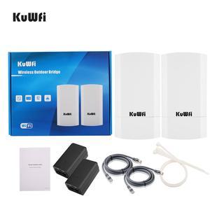 Image 5 - 2 pezzi 5Ghz 900Mbps 1KM p2p Wireless Outdoor CPE Ponte Router Supporta La Funzione WDS Nessuna impostazione con display A LED