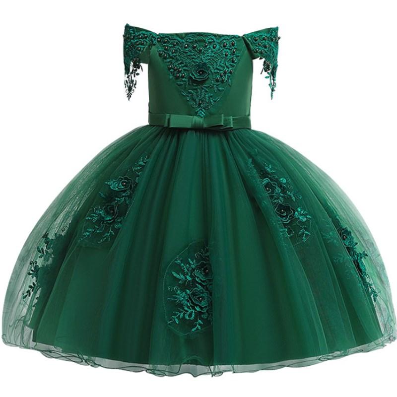 Del-bambino-Della-Ragazza-3D-Fiore-Vestito-Dalla-Principessa-di-Seta-per-la-Cerimonia-Nuziale-Del (2)