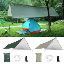 Oxford Awning Sun Shelter Beach Outdoor Camping Garden Sun Awning Canopy Sunshade Hammock Rain Fly Tarp Waterproof Tent Shade цена 2017