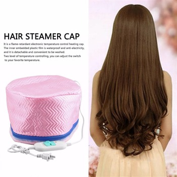 Thermostatic Electric Hair Cap Thermal Treatment Beauty Steamer SPA Nourishing Hair Care Cap Style Maker 4