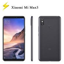 Original usado xiaomi mi max 3 6.9 polegada 4g/6g ram 64gb/128gb rom desbloqueado traseiro-montado impressão digital 4g android telefone inteligente