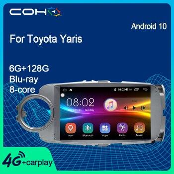 COHO-Radio Multimedia con Gps para coche, Radio Estéreo 10,0 con Android, ocho...