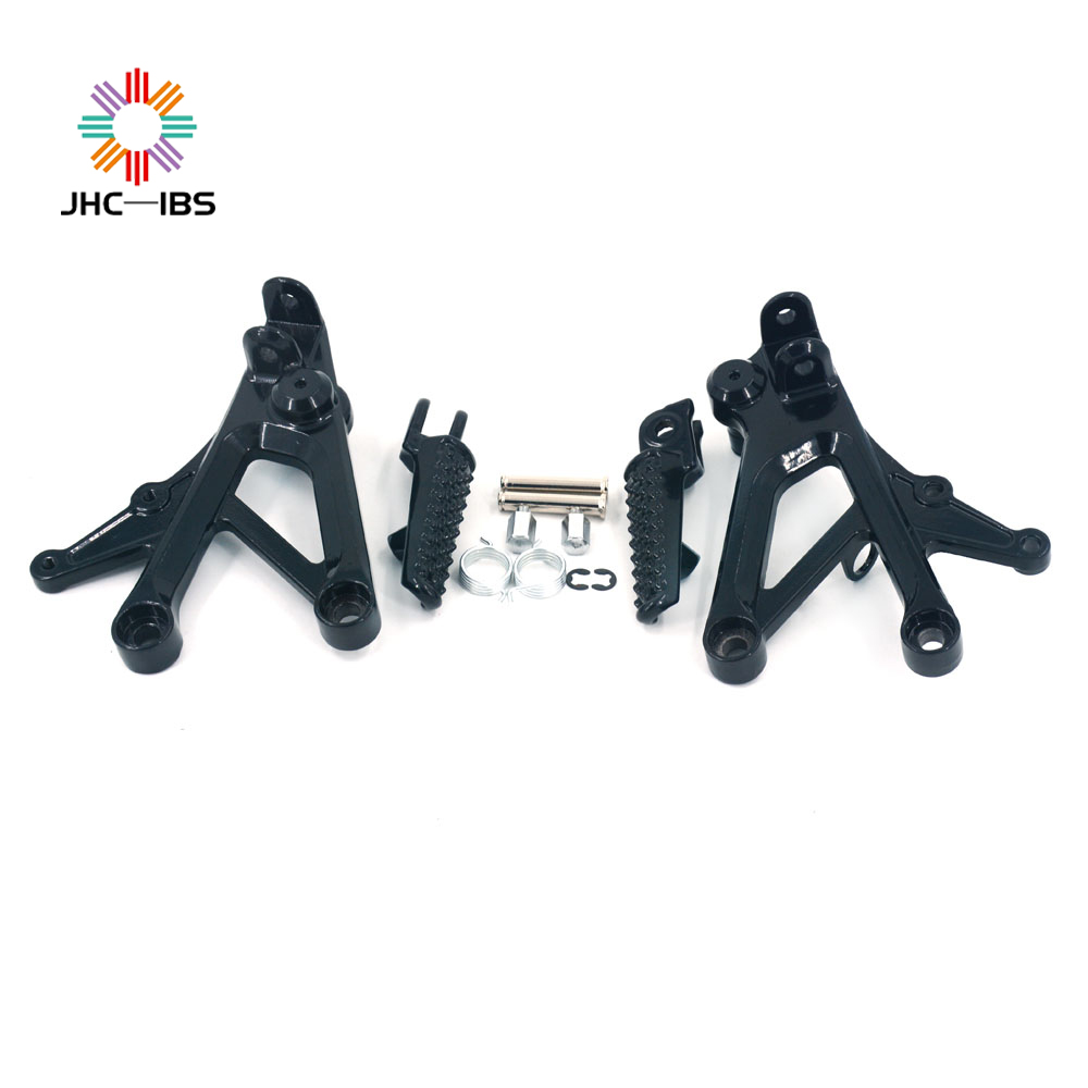 Motorcycle Footrests Front Foot Pegs Pedals Rest Footpegs For HONDA CBR600F4 CBR 600F4 CBR-600 F4 1999-2000 CBR600F4I