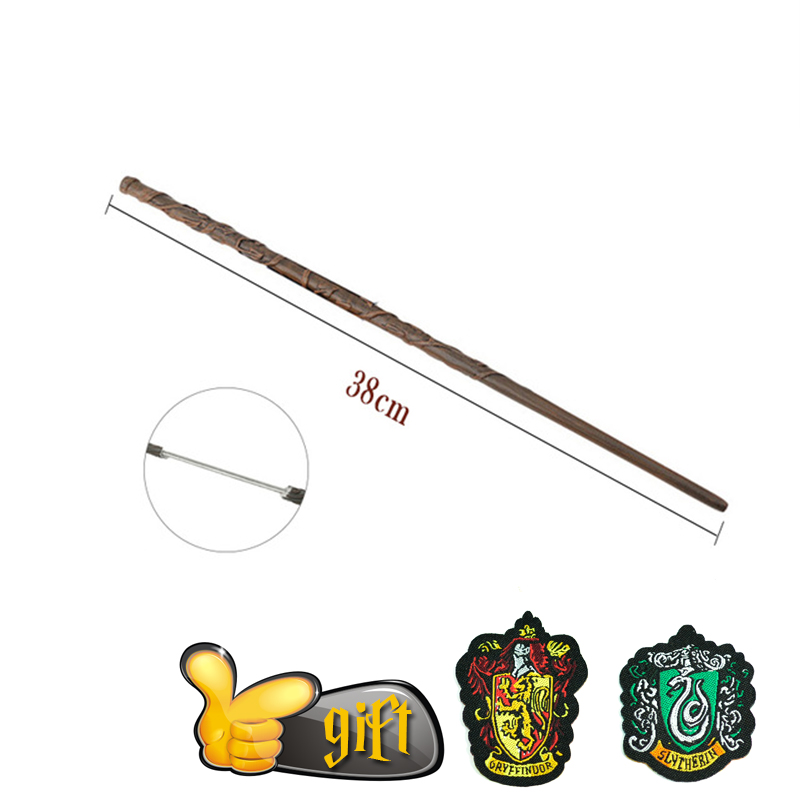 27 Kinds Of Potter Wands Colsplay Metal/Iron Core Dumbledore Magical Wand Varinhas Kid Magic Wand No Box With Gift