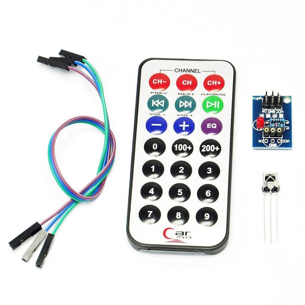 1838 Vs1838 Nec Infrared Ir Wireless Remote Control Sensor Module Single-Chip Microcomputer Infrared Remote Control Module