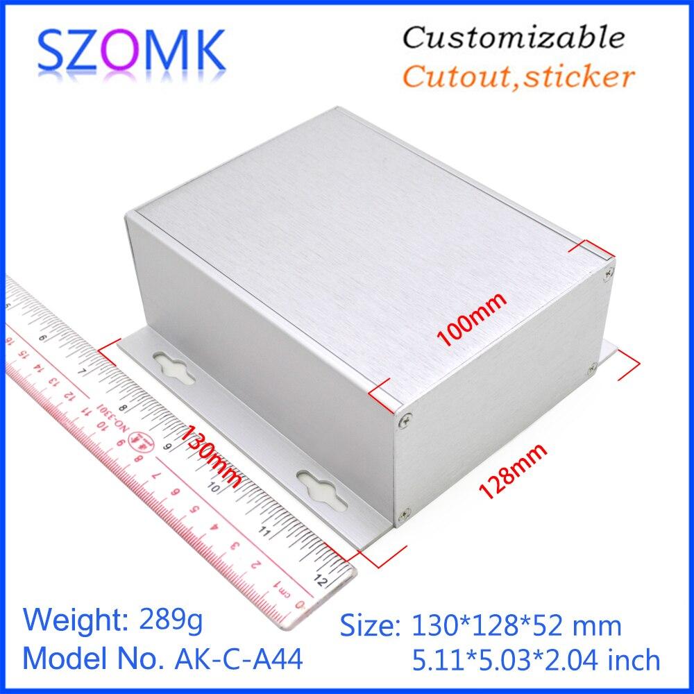 szomk aluminum enclosure for electronics device housing for pcb design audio aluminum control box enclosure casing (9)