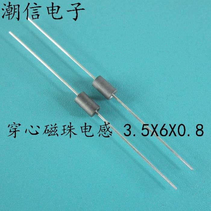 Износостойкие магнитные бусины в форме сердца, индуктивность 3,5*6*0,8, оплетка, защита от помех, магнитные бусины