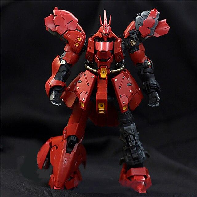Kim Loại Chi Tiết Lên Các Bộ Phận Cho Bandai RG 1/144 MSN 04 Sazabi Mô Hình Gundam Bộ Dụng Cụ