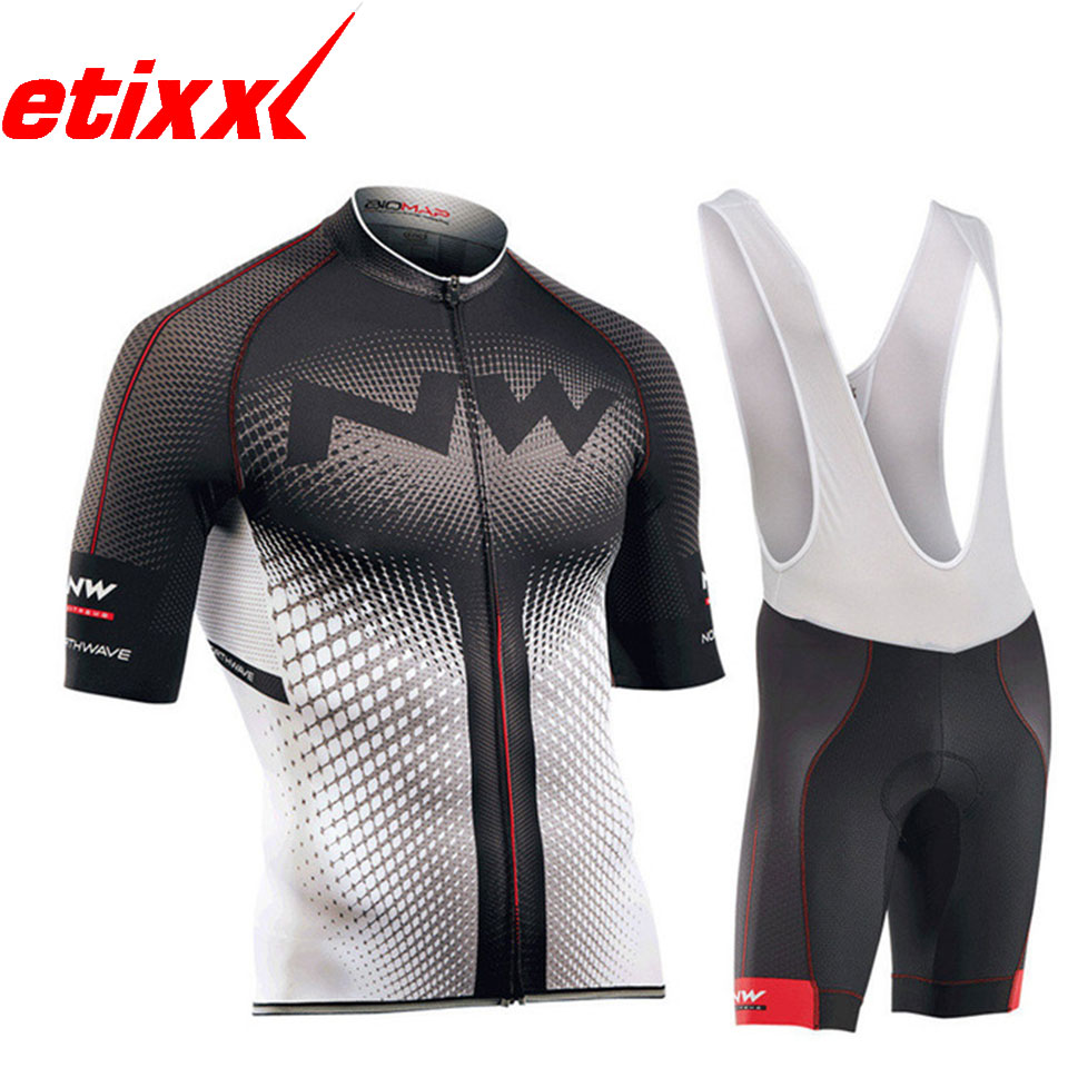 2020 NW Brand New Pro Bicycle Wear MTB Cycling Clothing Cycling Sets Bike Uniform Cycle Shirt Summer Cycling Jersey Set Men's