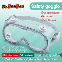 Clear Anti Dust Eye Protective Safety Glasses Goggles Anti Pollution Lightweight Glasses For Factory Lab Work Outdoor