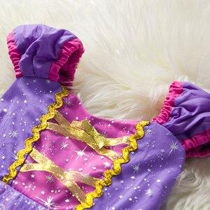 Image 2 - פעוט תינוק בנות רפונזל סופיה נסיכת תלבושות ליל כל הקדושים קוספליי בגדי מסיבת פעוט תפקידים לשחק ילדים מפואר שמלות לילדה