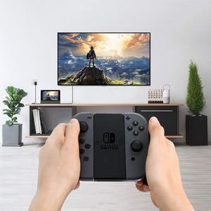 Image 2 - Vogek ניידת עבור Nintendo מתג עם סוג C כדי HDMI טלוויזיה מתאם USB 3.0 2.0 טעינת עגינה Playstand מטען