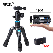BEXINเดสก์ท็อปสมาร์ทโฟนโต๊ะถ่ายภาพกระเป๋าขาตั้งกล้องขาตั้งแบบพกพาMini Miniขาตั้งกล้องสำหรับกล้องiPhone