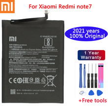 2021 years Original phone Battery For Xiaomi Redmi Note7 Note 7 Pro M1901F7C BN4A Genuine Phone Battery 4000mAh+ Free Tools
