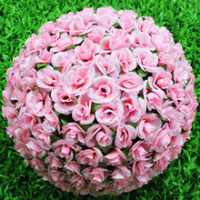 Artificial Flower Rose Ball Wedding Decor Holiday Party Celebration 20mm For Festivals, Weddings, Parties, Celebrations(China)
