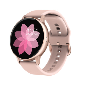 Умные часы Full Touch, женские умные часы с кислородом и артериальным давлением для телефонов Samsuang Huawei Xiaomi VS SG2