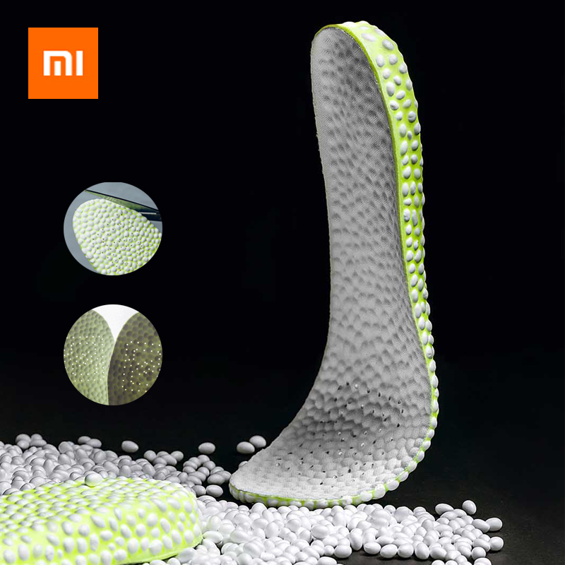 Xiaomi Popcorn BOOST Elastic Insole Cushioning Breathable Deodorization Incresed Sneaker Insoles Shock Absorption Tailorable