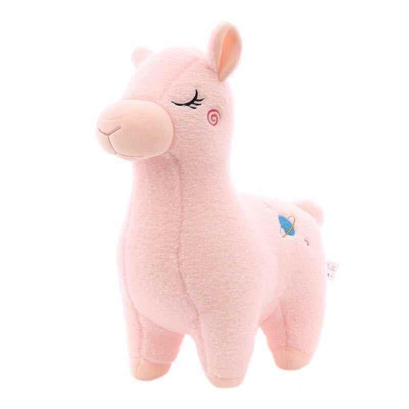 素敵な 23 センチメートル漫画アルパカぬいぐるみおもちゃ生地羊ぬいぐるみぬいぐるみラマyamma誕生日ギフトのため子供childre