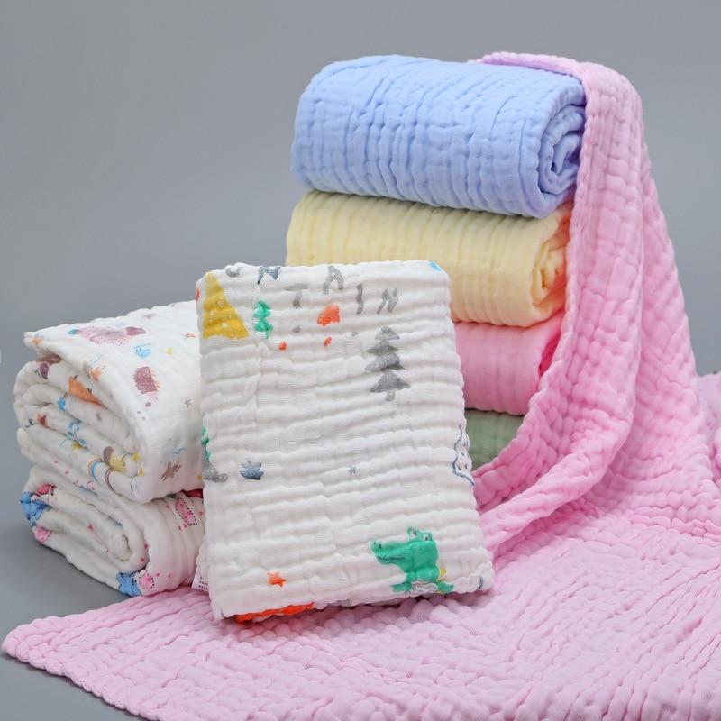 Bamboo Baby Blanket Manta Bebe Recien Nacido Algodon Baby Blankets Newborn Muslin Squares Diaper Baby Bath Towel Blanket