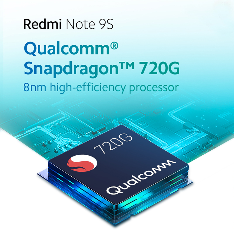 Global version Xiaomi Redmi Note 9S 64GB / 128GB Snapdragon 720G 48MP AI Quad Camera Note 9 S Smartphone 5020mAh QC 3.0