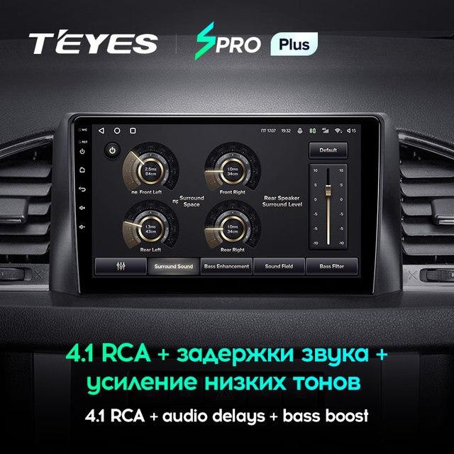 TEYES SPRO Plus Штатная магнитола For УАЗ Патриот УАЗ-3163 рестайлинг For UAZ Patriot 3 2016 2021 Android до 8-ЯДЕР до 6 + 128ГБ 16*2EQ + DSP 2DIN автомагнитола 2 DIN DVD GPS мультимедиа автомобиля головное устройство 4