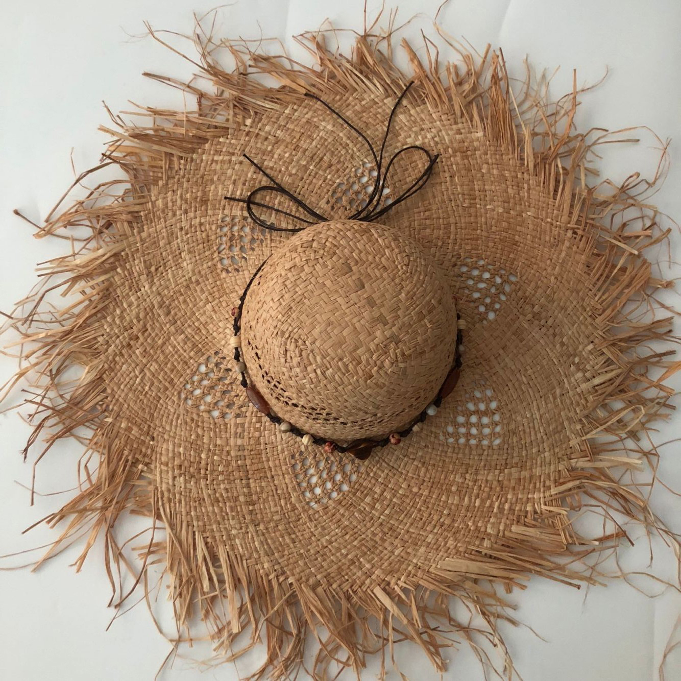 ZJBECHAHMU Casual Solid Vintage Jewelry accessories Straw Sun Hat For Women Summer Cap Shaded beach folding hat 2019 New fedoras