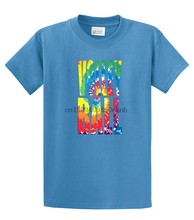 Unisex Mens Womens Volleyball T Shirt Volleyball In Tie-Dye(China)