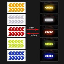 Mark Car-Sticker Warning-Decals Reflective Safety Traffic 2PCS Bumper Arrows-Pattern