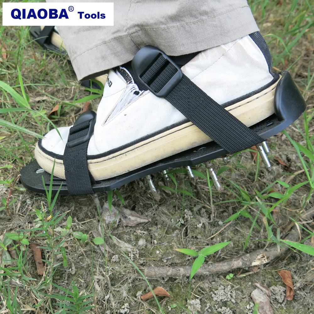 Spiked Shoes For Aerating Lawns  Plastic Fastener For Lawn Care Aeration Tools Lawn Aerator Shoes