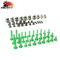 Motorcycle Fairing Screws Fastener Kit Body Fastener Clip Screws Nuts Set for KAWASAKI W800 W800SE Versys ABS Versys 300X