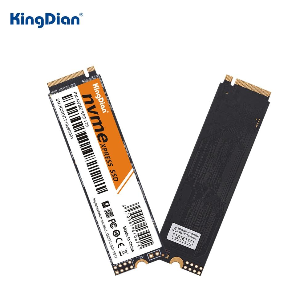 KingDian M.2 ssd 128 ГБ 256 512 1 ТБ M2 2280 NVMe pcie твердотельный накопитель внутренний жесткий диск для ноутбука, настольного компьютера, консоль для ПК-игр