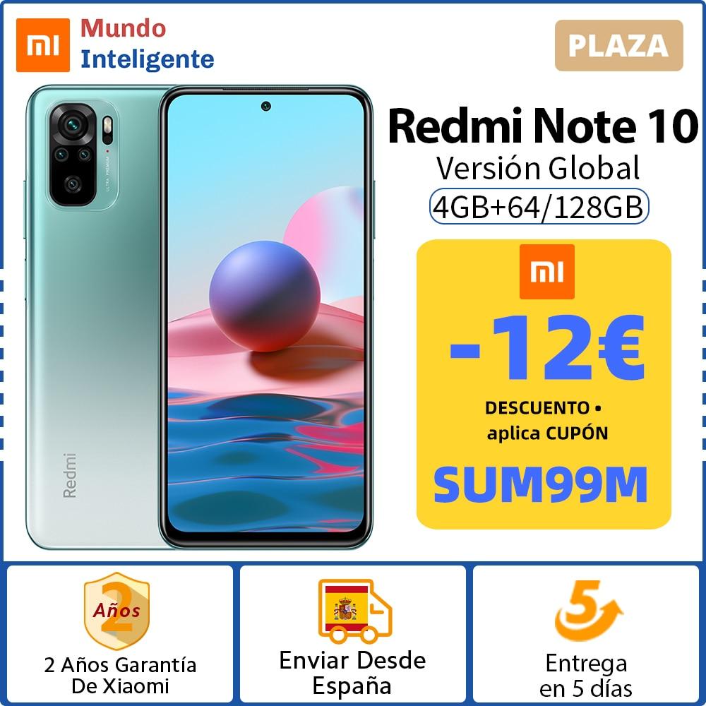 Redmi Note 10 barato descuento cupón