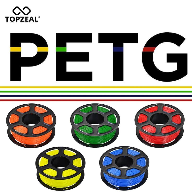 TOPZEAL PETG 3D Printing Filament PETG Filament 1.75mm 1KG Premium Quality For 3D Printer Filament