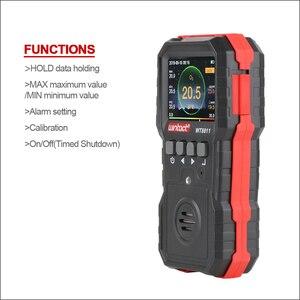 Image 3 - RZ compud 가스 모니터 LCD 디스플레이 충전식 다기능 4 in1 가연성 O2 H2S CO 가스 센서 사운드 라이트 진동 알람