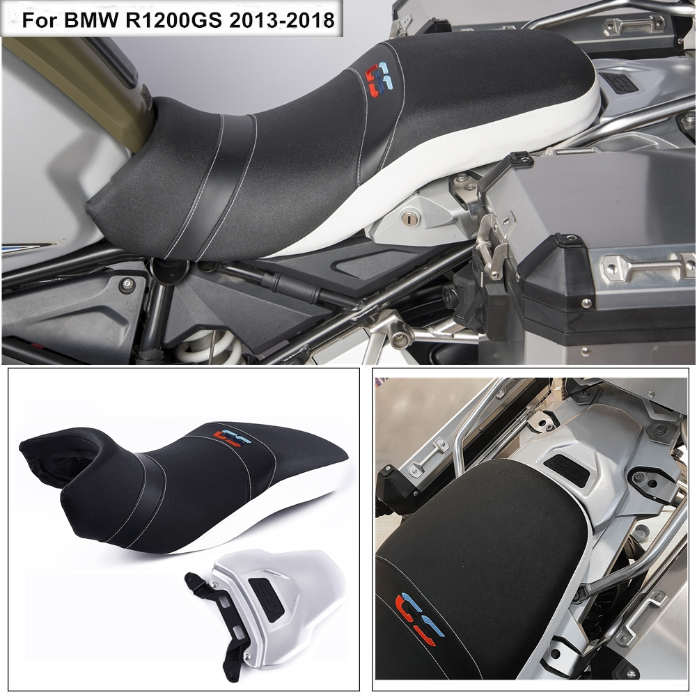 Motor Lower Comfort Driver Rider Passenger Seat Cover Dual Sport For 2013-2018 BMW R1200GS 2014-2016 R 1200GS LC Adventure ADV