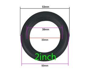 """Image 3 - Nowy rozmiar gumowa obudowa głośnika zawieszenie akcesoria do naprawy dla 2 cali 2.5 cala 3.5 cala 4 cale 4.5 cala 5.25 cala 6.5 cala 8"""""""