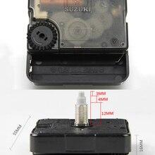 Repair-Parts Clock Motor Movement Mechanism Quartz-Clock Home-Accessories Silent Suzuki