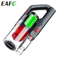 150W 6000pa Car Vacuum Cleaner Wireless Rechargeable Handheld Vacuum Cleaner Super Suction Car Wet/Dry Clean With HEPA Filter