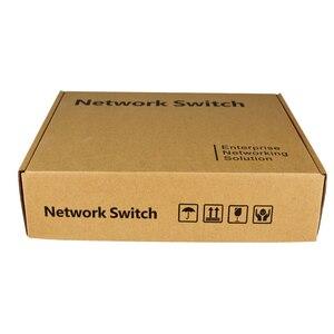 Image 5 - 4 port PoE Gigabit Ethernet anahtarı 1 port Gigabit İnternet anahtarı POE anahtarı 5x10/100/1000 mbps RJ45 Port PoE 48v