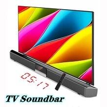40W TV Soundbar Wireless Bluetooth Home theater DSP Surround Soundbar for Computer TV Speaker  music system center Caixa de som