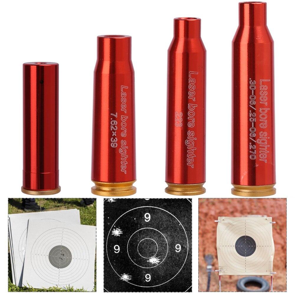 Лазерный картридж с красной точкой, лазерная указка CAL 12GA 7,62x39 мм 223 .308 .30-06/.25-06/.270, прицел для наружной охоты