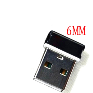 Image 2 - 6mm Draadloze Unifying Usb ontvanger Adapter voor Logitech M185 M950 M720 M325 M235 M705 MK710 MK520 MK330 Muis Toetsenbord