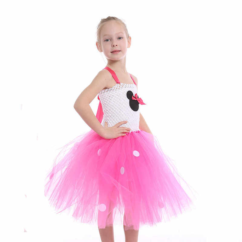 AliExpress Europe And America Children Performance Costume Mickey Mouse Dress Kindergarten Costume Customizable