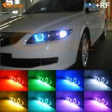 Für Mazda 6 Mazda6 Mazdaspeed 6 MS6 gg RF remote Bluetooth APP Multi Farbe Ultra helle RGB LED Engel augen Kit Tag Licht