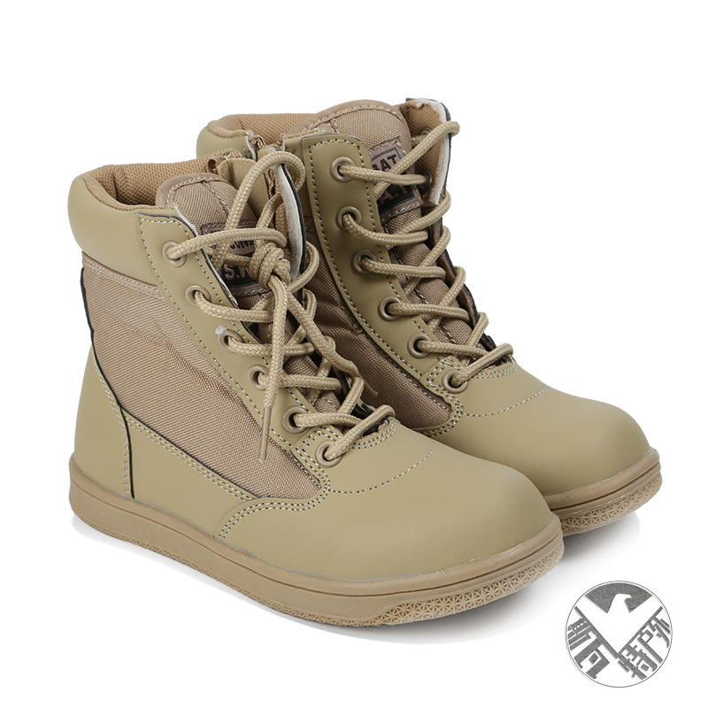 Manufacturers Wholesale Children Tactical Boots Men And Women Combat Boots Special Forces Tactical Boots Outdoor Anti-slip Hikin