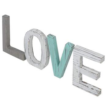 Drewniane listy miłosne kreatywne antyczne drewniane angielskie litery rekwizyty ślubne ozdoby drewniane ozdoby tanie i dobre opinie Drewna