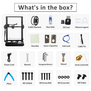 Image 5 - SUNLU S8 FDM 3D Printer Larger Printing Size PLA ABS PETG 3d Filament Extruder Resume Power Failure Printing Desktop 3D Printer