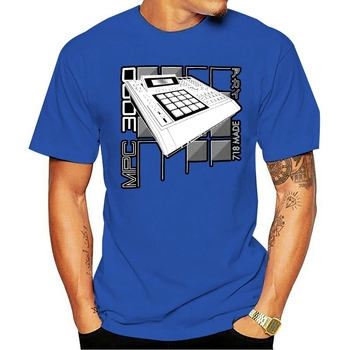 Akai MPC 2000 Shirt 41 Acid EDM Skool Rave House Music Vintage Synthesizer Moog